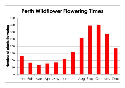perth plant flowering times